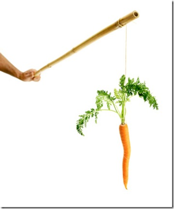 carrot on a stick