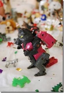 Transformer dog wolf