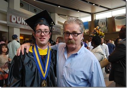 Max Buck graduation